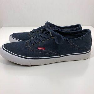 Levi's casual dark denim shoes 10.5
